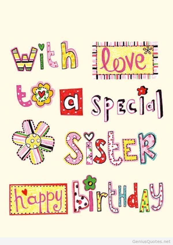 Preferenza Oltre 25 fantastiche idee su Buon compleanno sorella su Pinterest  BB13