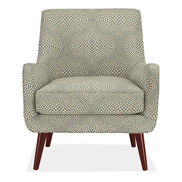 Quinn Chair Ottoman Modern Accent Lounge Chairs Modern