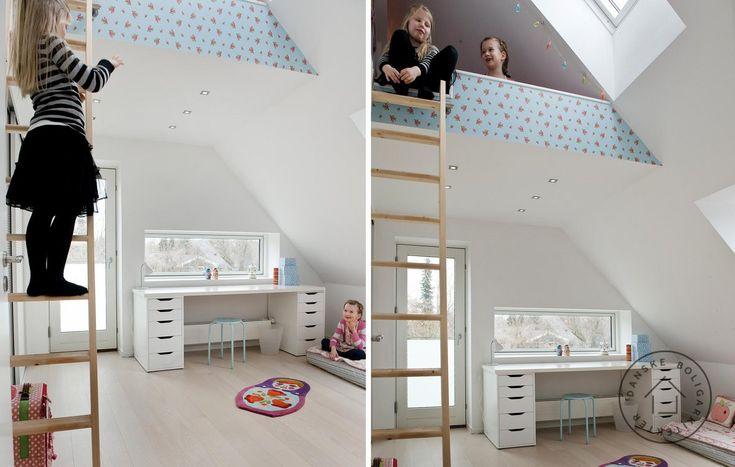 Børneværelse med hems