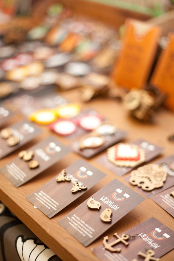 how to package and display clay jewelry