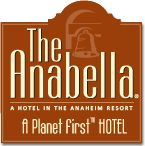 The anabella hotel - across from Disneyland