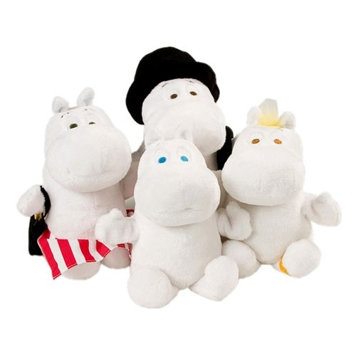 Moomin: Stuffed Moomins. I have all of these.