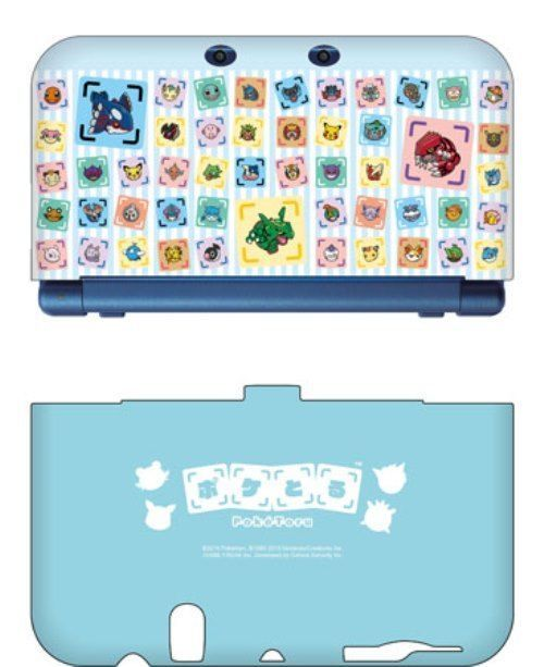 MAXGAMES Pokemon XY New Nintendo 3DS LL Soft Cover Pokemon Shuffle