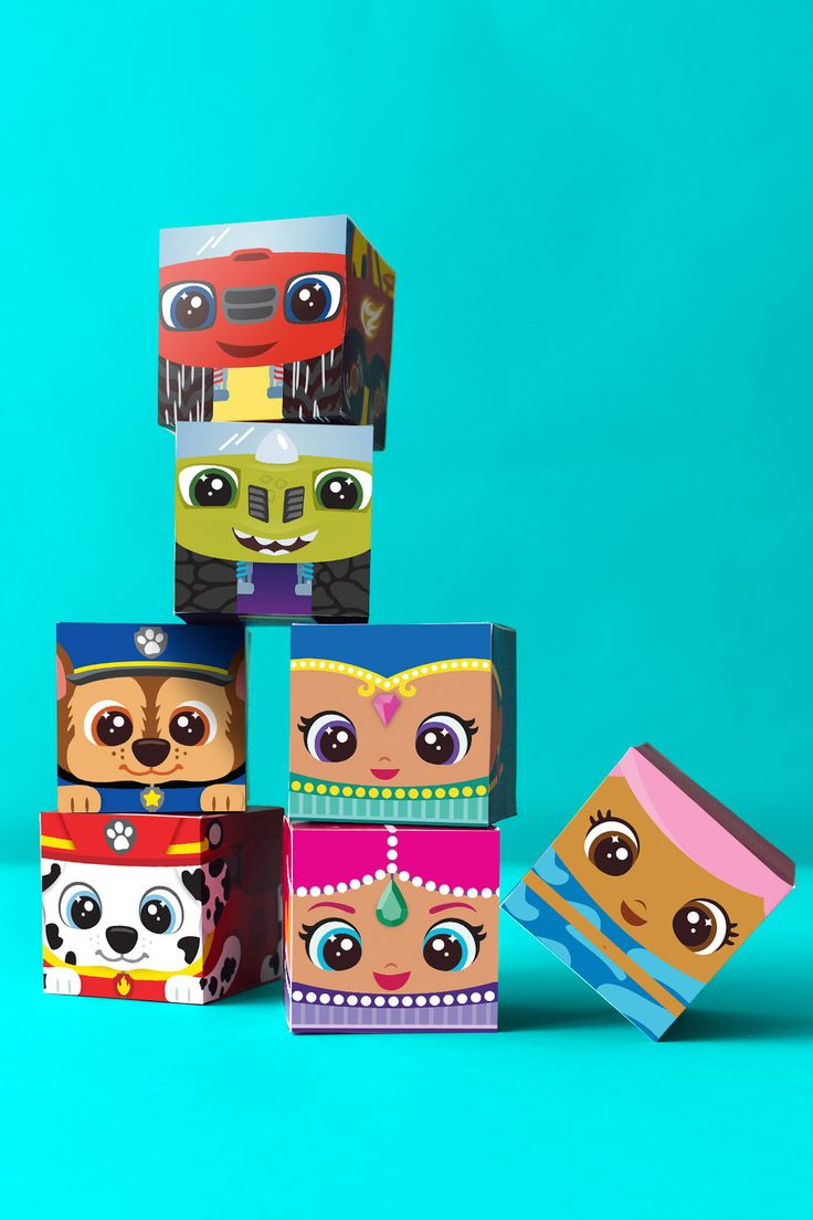 Nick Jr. Block Party Printable Craft