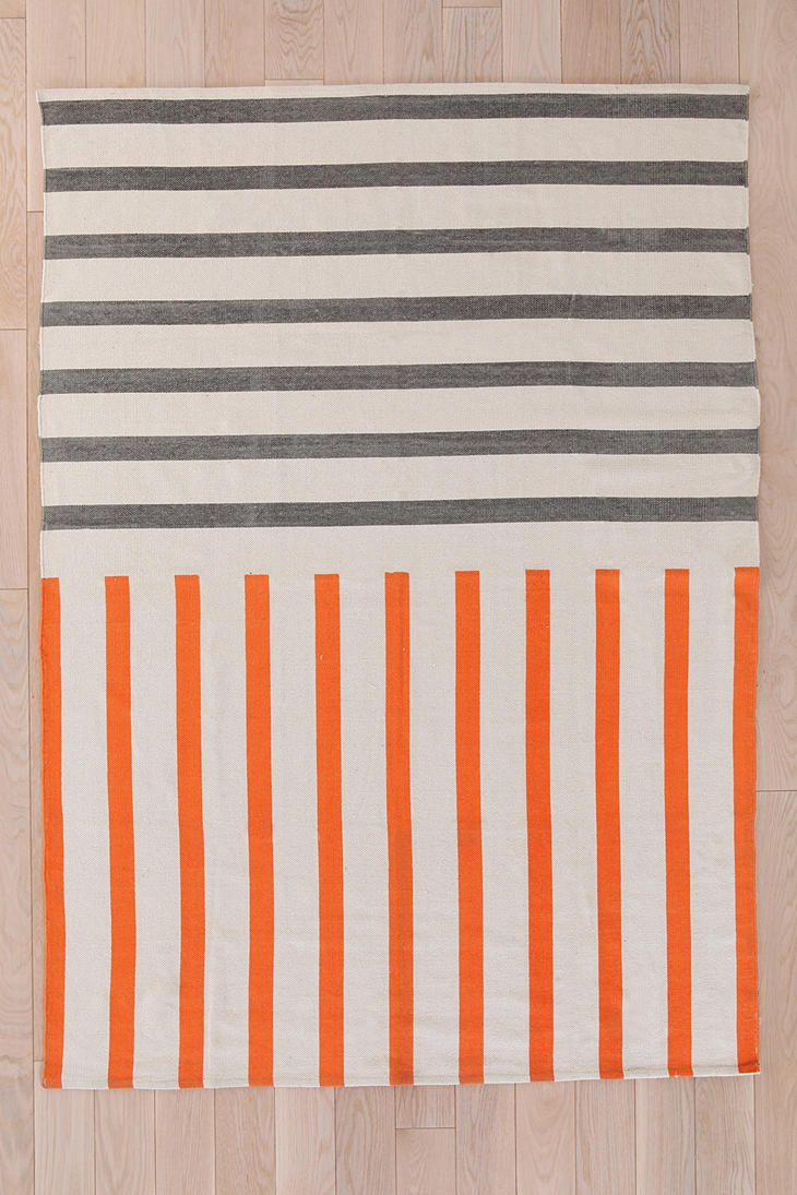 Assembly Home Mixed-Stripe Rug