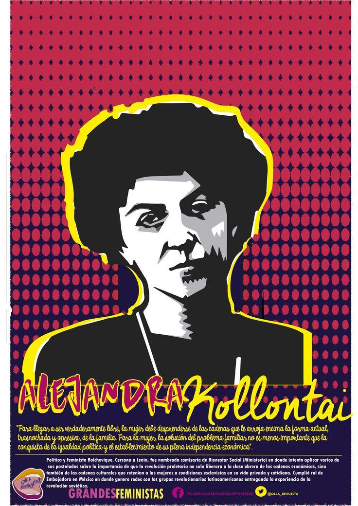 #Feministas  Alejandra kollontai | grandes feministas #ollarevuelta --->>>http://bit.ly/29WJNuJ