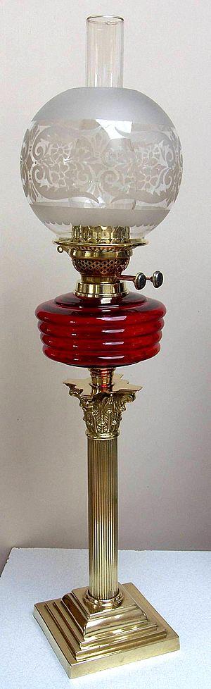 Banquet lamp with duplex burner                                                                                                                                                      More
