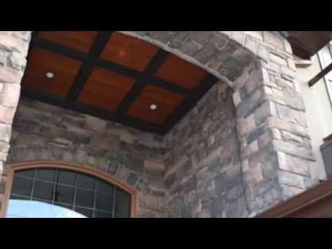 Southern Hackett Manufactured Stone Veneer from Kodiak Mountain Stone