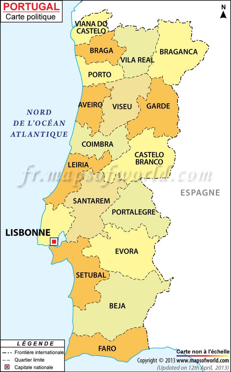 Carte #Portugal