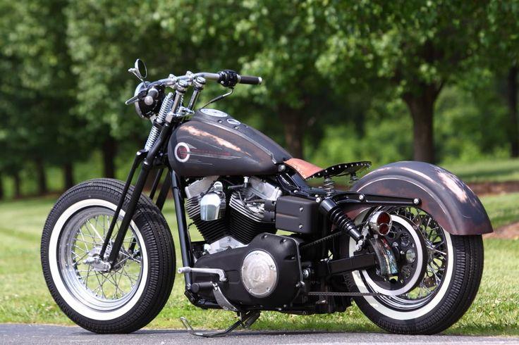 "dyna bobber | Super Glide Bobber - ""DIRTY MILK MONEY"" - Harley Riders USA Forums"