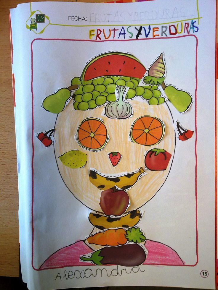Frutas y verduras / Arcimboldo