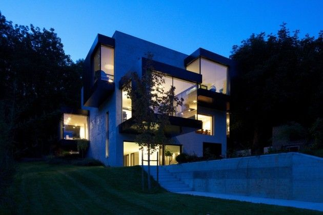 bergmeisterwolf #Architects have designed #House P, located in Mühlbach, Italy.