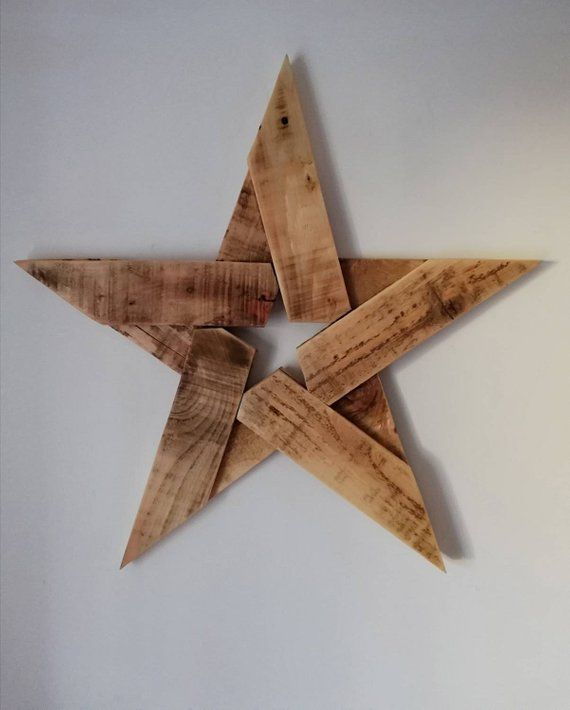 Christmas Star Wall Hanging Reclaimed