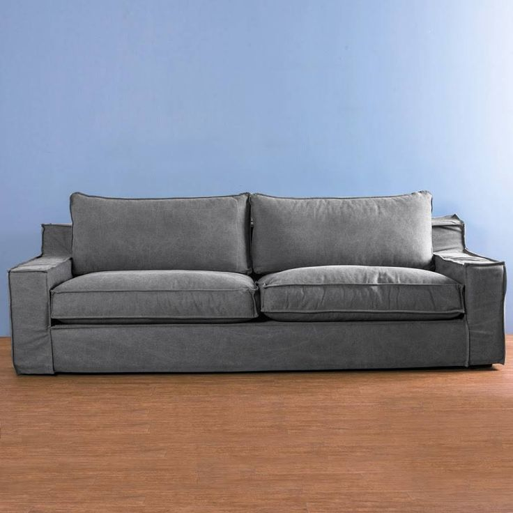 Busca imágenes de diseños de Salas estilo minimalista}: Sofa Capri Gris Obscuro. Encuentra las mejores fotos para inspirarte y y crear el hogar de tus sueños.