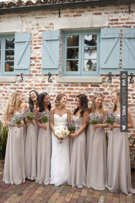latte bridesmaid dress