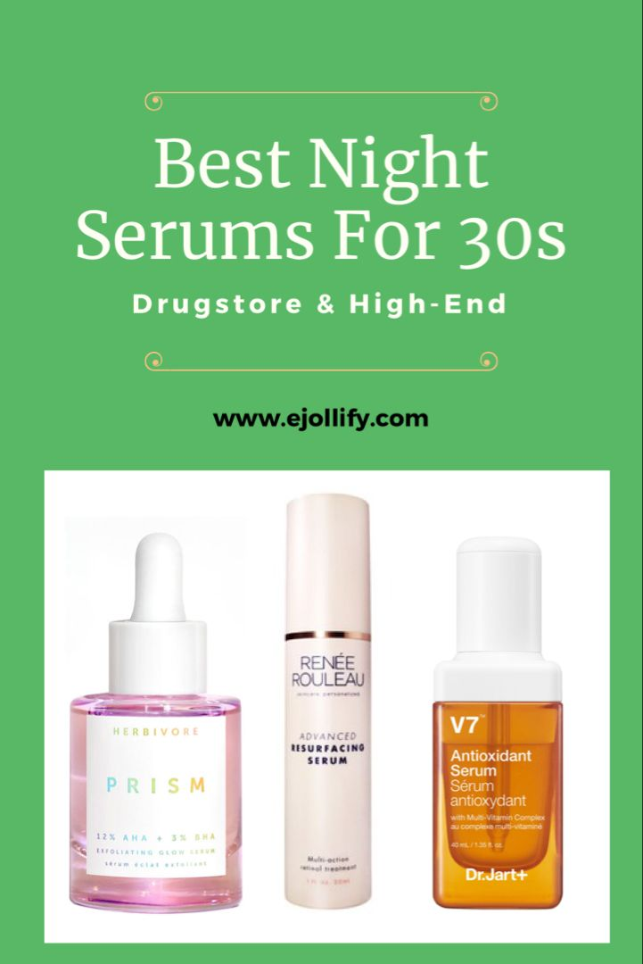 10 Best Night Serums For 30s For All Skin Types 2020 In 2020 Best Night Serum Night Serum Serum