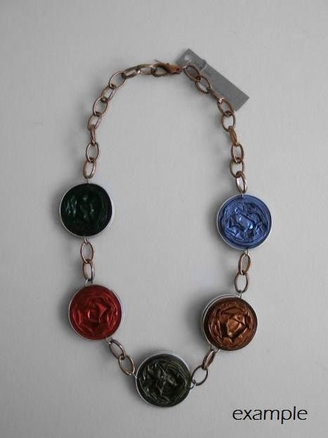 Recycled Necklace $21,01