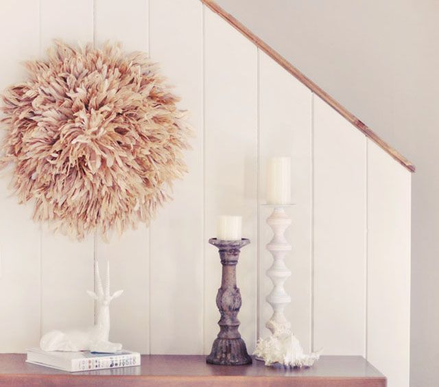 Feather Your Nest With This DIY Wall Art