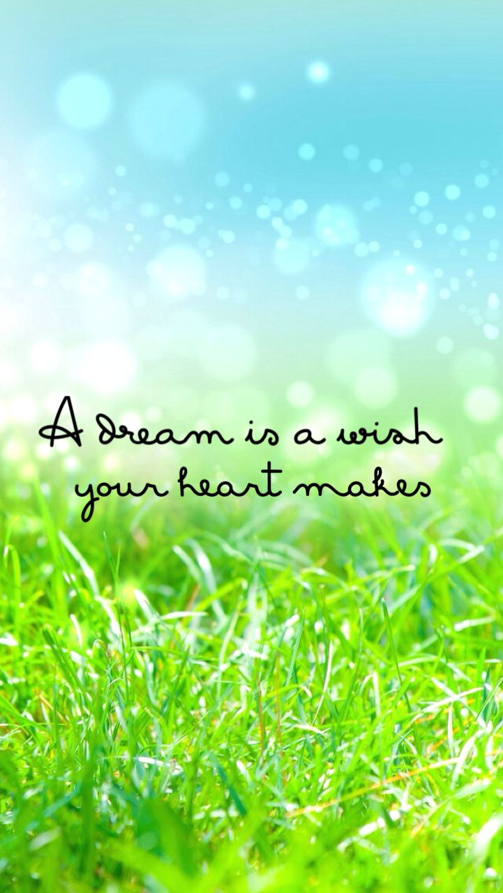 A dream is a wish your heart makes . . Cute quotes | Quotes and Sayings
