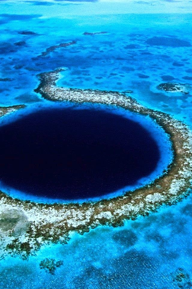 The Mysterious Belize Great Blue Hole
