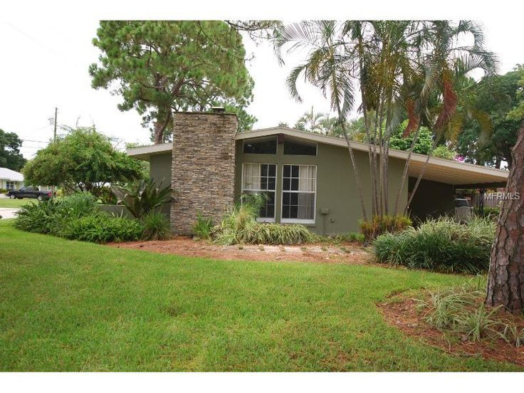 Real estate matching your search bays home and mid century for Modern florida homes