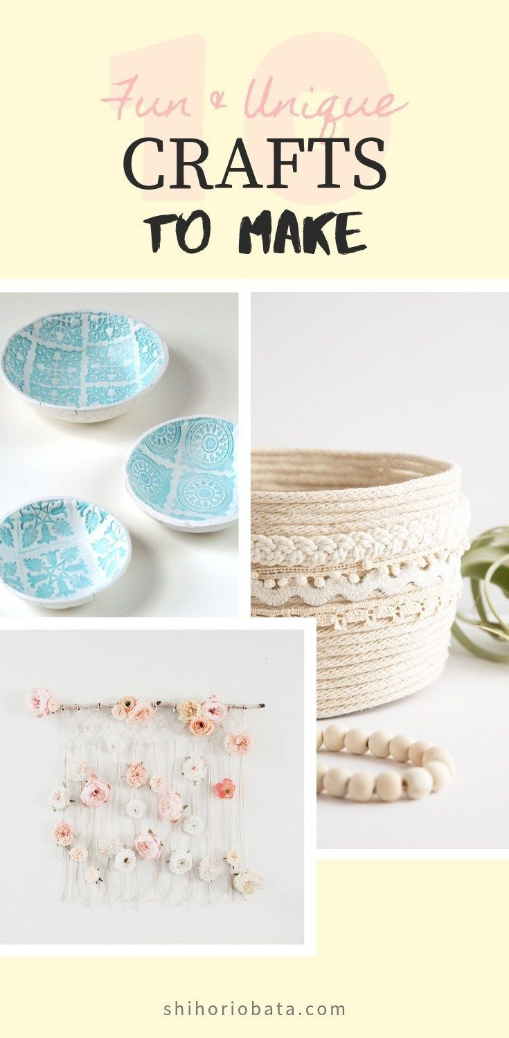 10 Fun Unique Diy Craft Ideas To Make Crafts To Make Sell