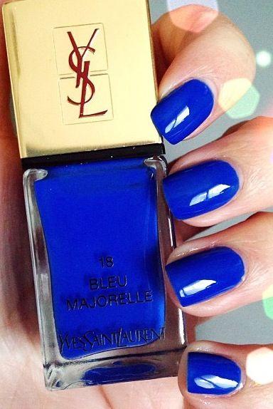 YSL nail polish