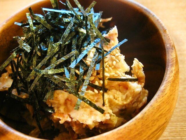 里芋の梅和えサラダ #週末の作り置きレシピ #常備菜 #冷蔵1週間
