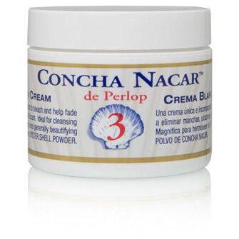 Concha Nacar es una crema blanqueadora que se utiliza para tratar las arrugas, manchas y para aclarar la piel.