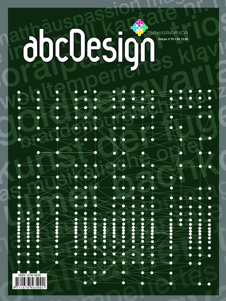 Capa da edição 19 da Revista abcDesign