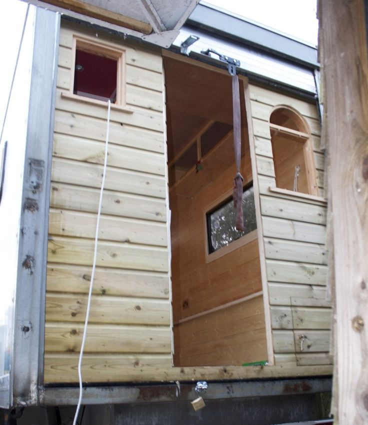 Making A Camper Out Of A Van Hippie Trailers Pinterest