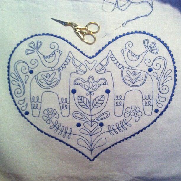 Zweedse stitchery