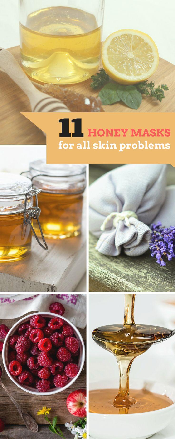 11 Gesichtsmasken mit Honig für jedes Hautproblem