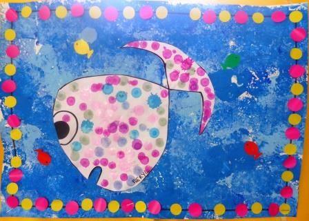 Activités de numération, fiches pour découvrir l'écrit, jeu sur les formes, comptines sur la mer et sa faune, fiches de vocabulaire... poisson maternelle