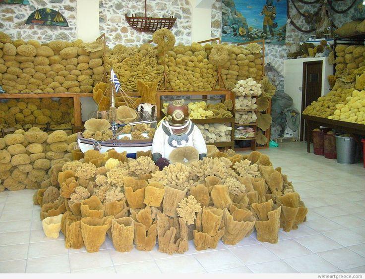 Natural sponges of Kalymnos
