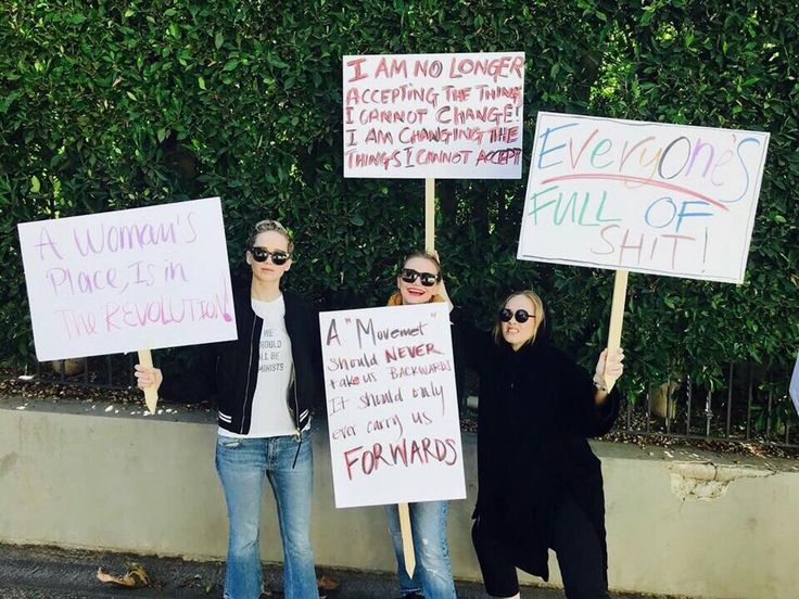J-law, cameron diaz, and adele on womens march, 2018