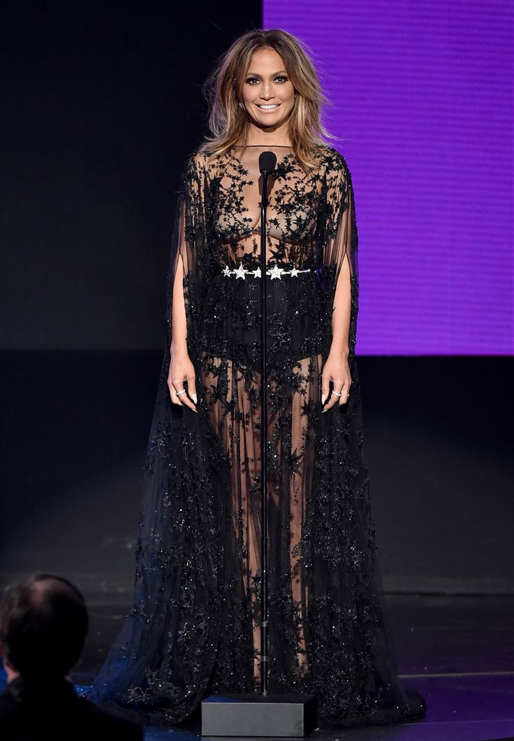 JENNIFER LOPEZ , AMERICAN MUSIC AWARDS - American Music Awards: Sexy Jennifer Lopez stjal showet