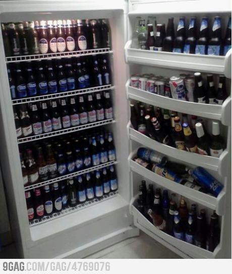 No THAT'S a beer fridge!