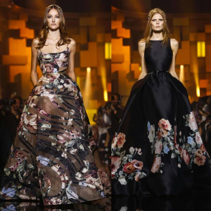 Paris Haute Couture Week Beauties.. Day 4 @eliesaabworld cont.. #pfwt