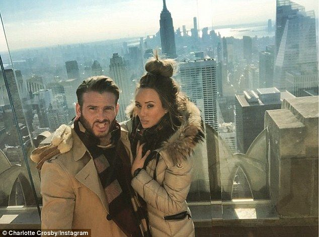 Big Apple: Charlotte Crosby and her on-off boyfriend Mitch Jenkins jetted off to New York ...