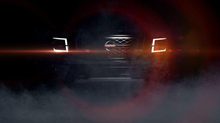 Nissan teases 2020 Titan redesign