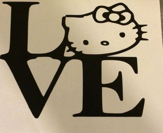 Best Hello Kitty Images On Pinterest Hello Kitty Years - Hello kitty custom vinyl stickers
