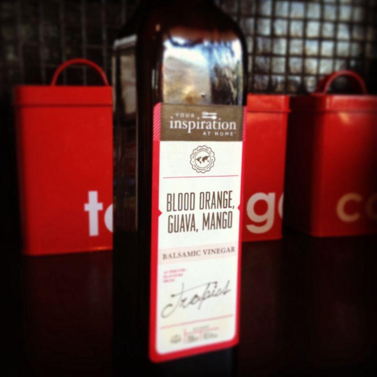 OMG - Blood Orange, Mango & Guava vinegar from Your Inspiration At Home www.bridgetfox.yourinspirationathome.com.au