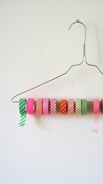 Masking tape holder..., via Flickr.