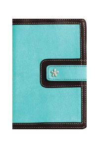 KJV Compact Reference Bible, Turquoise-Chocolate $22.99 http://www.celebrateyourfaith.com/KJV-Compact-Reference-Bible-44-Turquoise-45-Chocolate-P9507C155.cfm