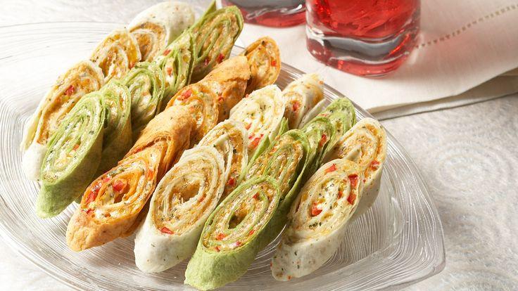 Hot Mexican Pinwheels