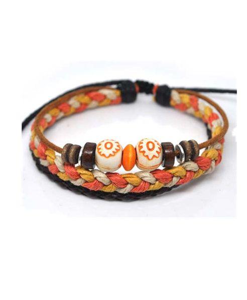 Tibet Hemp Beaded Bracelet Pack chicnova
