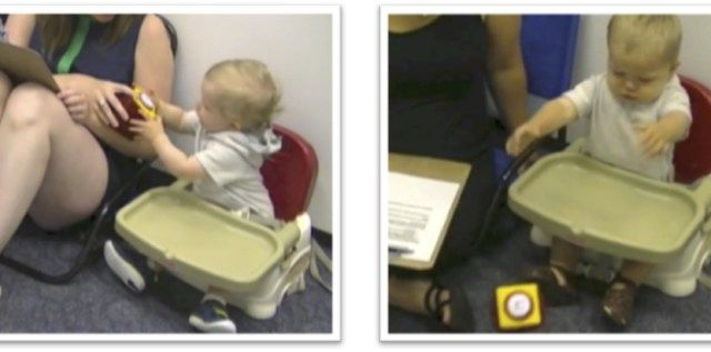 Nevertheless they persist: Babies can copy adult tenacity