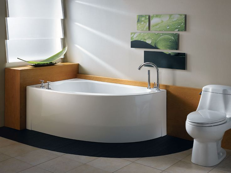 Tubs For Small Spaces Part - 33: Small Corner Bathtub