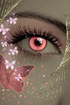 """""""The soul that can speak through the eyes, can also kiss with a gaze"""" - Gustav Adolfo Becquer  ~Butterfly Kisses~"""